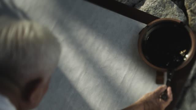japanese calligraphy - kalligraphieren stock-videos und b-roll-filmmaterial