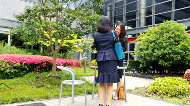japanese corporate professional business women traditional greeting for meeting - only japanese stock videos and b-roll footage