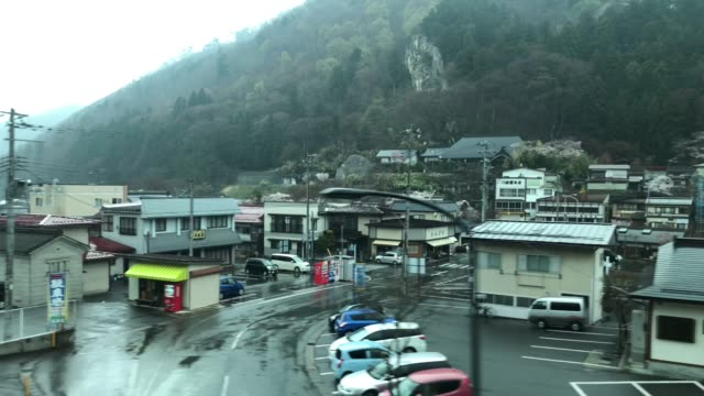 japanese countryside city - railway station stock videos & royalty-free footage