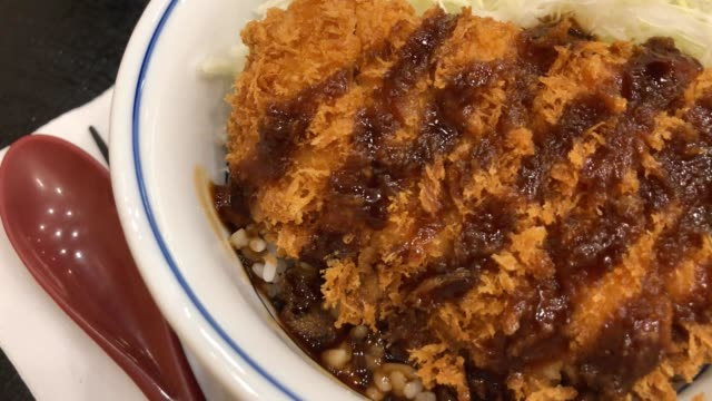 japanese curry set , tonkatsu - ketchup stock videos and b-roll footage
