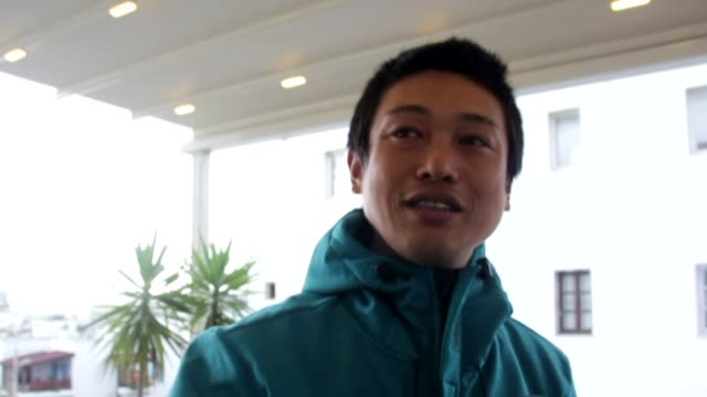 Japanese cyclist arrived in southern Turkey on Friday twoandahalf months after setting off from the Georgian Black Sea city of Batumi Shogan Kameda...