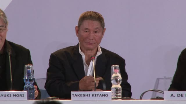 Japanese director Takeshi Kitano returns to his favourite genre with his latest movie 'Outrage Beyond' which is presented today at the Venice film...