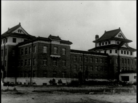 japanese embassy building department of agriculture and ls department of education / manchuria - 1938年点の映像素材/bロール