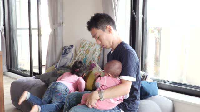 japanese family - babygro stock videos & royalty-free footage