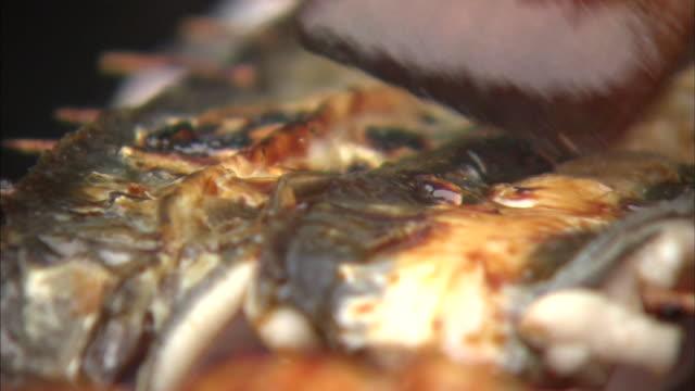 Japanese Food, Skewers Of Eel