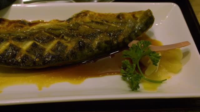 ZO MO Japans eten stijl Saba teriyaki gegrild
