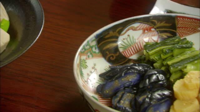 vídeos de stock, filmes e b-roll de pan japanese food/ tokyo, japan - comida japonesa