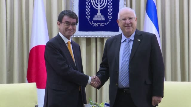 Japanese Foreign Minister Taro Kono started a visit to Israel and the Palestinian territories on Monday meeting with Israeli President Reuven Rivlin...