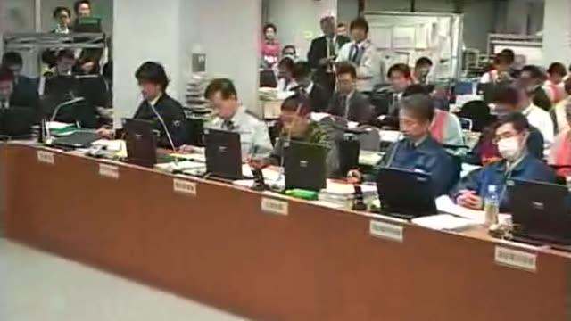 vídeos de stock, filmes e b-roll de japanese former bureaucrat toru ishida will resign as an adviser to nuclear plant operator tokyo electric power co. amid criticism of cozy ties... - 1 minuto ou mais