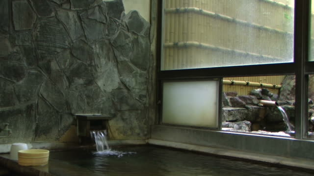 hd: japanese hot spring (video) - hot spring stock videos & royalty-free footage
