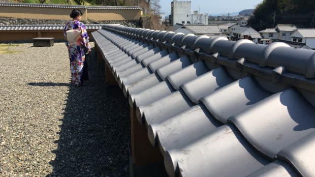 japanese kimono - yukata robe stock videos & royalty-free footage