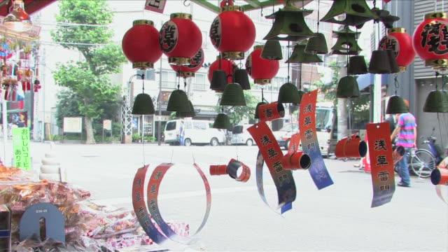 japanese lantern - ベル点の映像素材/bロール