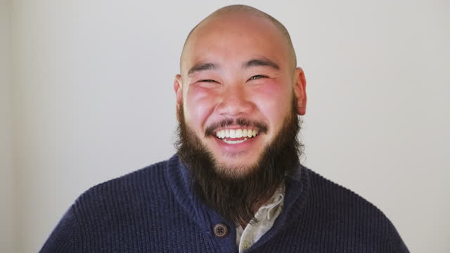japanese man portrait - business casual stock videos & royalty-free footage