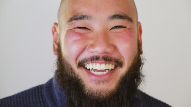 japanese man portrait - headshot stock videos & royalty-free footage