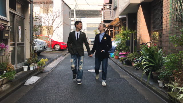 japanese men gay couple - human rights stock videos and b-roll footage