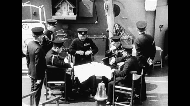 japanese military commandment in 1941 - 日本の軍事力点の映像素材/bロール