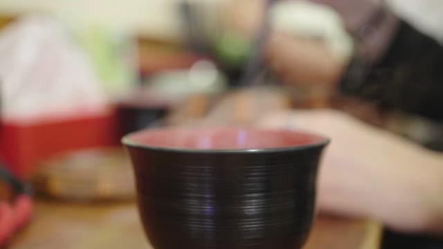 味噌汁 - スープ点の映像素材/bロール