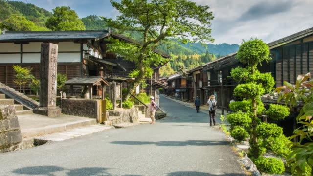 japanese old town - 町点の映像素材/bロール