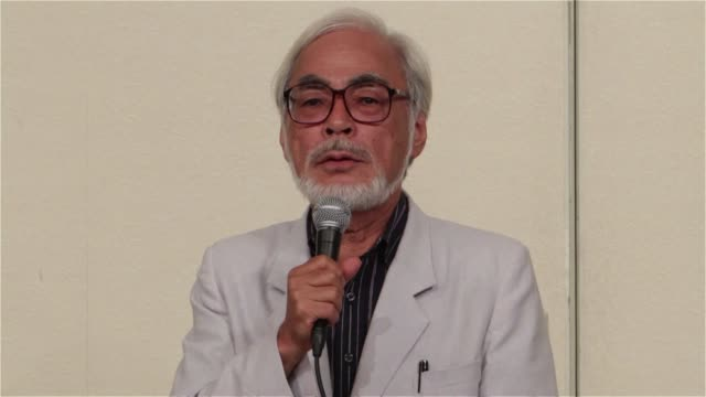 japanese oscarwinning animator hayao miyazaki said friday he was retiring from featurelength movies because he could no longer maintain the pace but... - animator stock videos & royalty-free footage