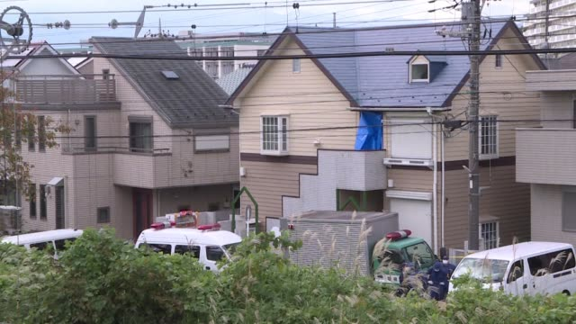 japanese police find nine bodies including two with their heads severed and dumped in a cool box in a flat in the tokyo suburbs - cool box stock videos and b-roll footage