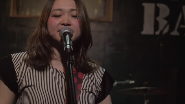 japanese rock band performing on stage. - musician stock videos & royalty-free footage