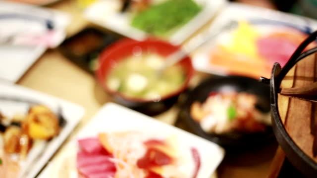 japanese sukiyaki, nabe - sukiyaki stock videos and b-roll footage