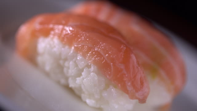 japanese sushi - raw food diet stock videos & royalty-free footage