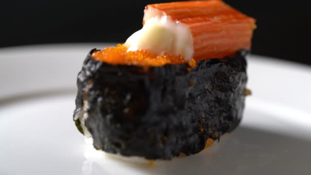 japanese sushi - wasabi stock videos and b-roll footage
