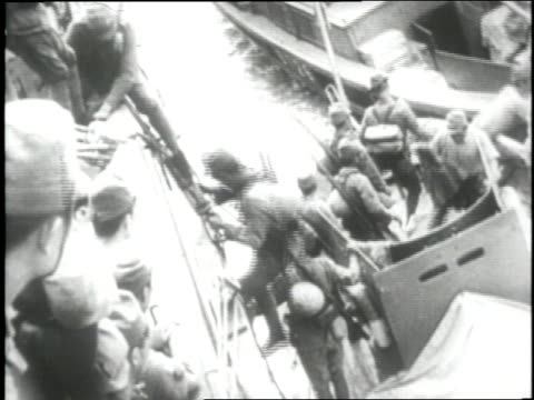 japanese troops battle for occupation of the aleutian islands alaska - aleutian islands stock videos and b-roll footage