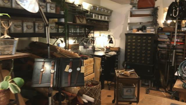 Japanese Watchmaker Workshop