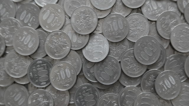 japanese yen. - 金銭に関係ある物点の映像素材/bロール