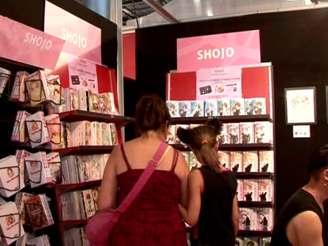 japan's comics culture is somewhat special in that women play a real role in authoring and drawing cartoon albums. paris, paris, france. - manga style stock videos & royalty-free footage