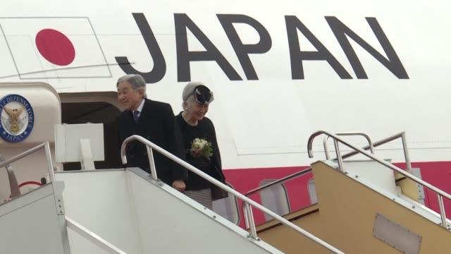 japan's emperor and empress depart for their first trip to vietnam to meet families of former japanese soldiers to help heal wounds left over from... - emperor of japan stock videos and b-roll footage
