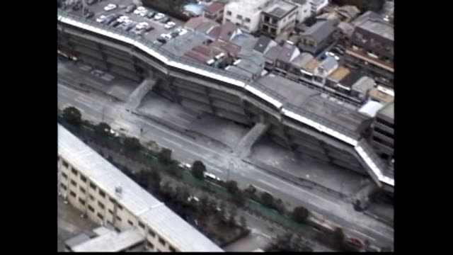 japan's most devastating earthquake in nearly half a century ravaged the international port city of kobe and many other cities in western japan on... - other stock videos & royalty-free footage