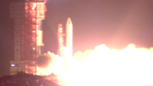 japan's next-generation solid fuel rocket made its second successful launch on december 20 japan, placing a satellite into orbit that will study how... - fuel and power generation stock-videos und b-roll-filmmaterial