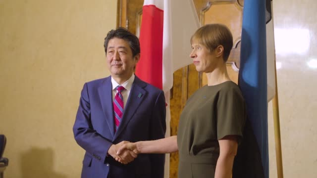 Japan's prime minister lands in Estonia his first stop on a tour of the Baltic states and other European nations as he seeks to drum up support for...