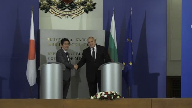 Japan's Prime Minister Shinzo Abe sought to drum up EU pressure on North Korea on Sunday while pledging to boost economic cooperation with Bulgaria...