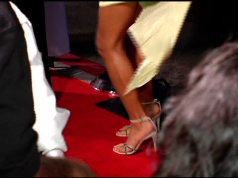 jaqueline fleming at the hair show premiere arrivals at the magic johnson theaters in los angeles california on october 14 2004 - magic johnson stock videos and b-roll footage