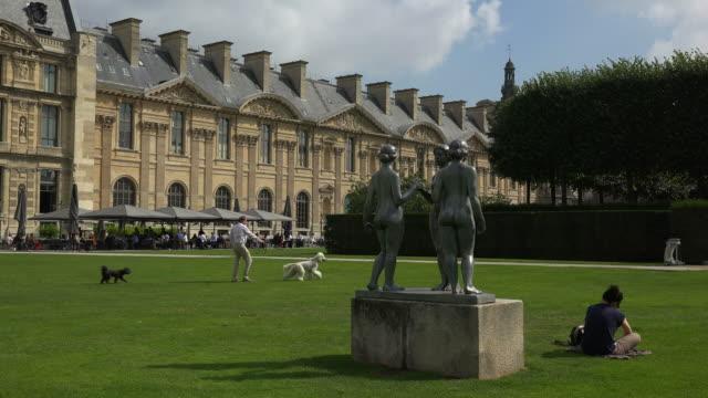 Jardin des Tuileries, Musee Des Arts Decoratifs, Paris, France, Europe
