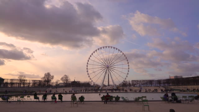 jardin des tuileries paris in winter. - 17th century style stock videos & royalty-free footage