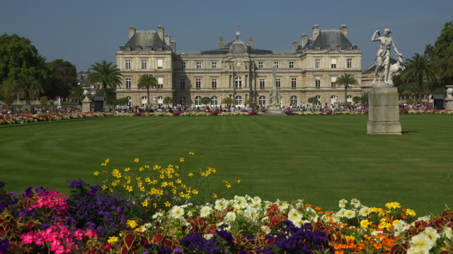 jardins du luxembourg and luxembourg palace paris france europe - Le Jardin Du Luxembourg