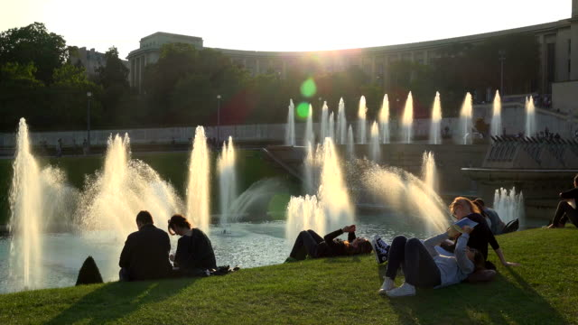 Jardins du Trocadero, Paris, Ile de France, France