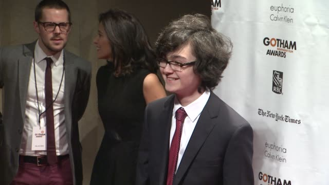 jared gilman at the 22nd annual gotham independent film awards at cipriani wall street on november 26 2012 in new york new york - independent feature project stock videos & royalty-free footage