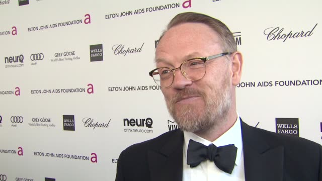INTERVIEW Jared Harris at Elton John AIDS Foundation Presents 21st Annual Academy Awards Viewing Party Sponsored By Chopard Neuro Drinks And Wells...