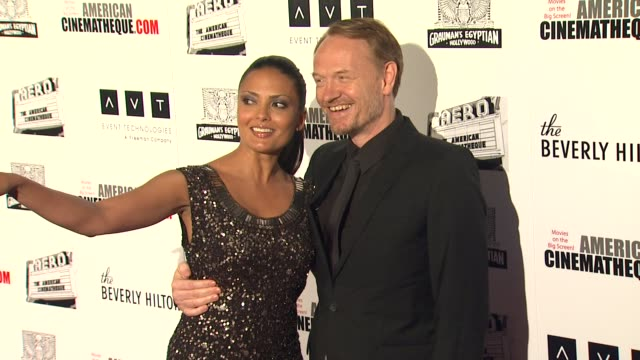 jared harris at the the 25th annual american cinematheque award honoring robert downey jr at beverly hills ca - american cinematheque stock videos & royalty-free footage