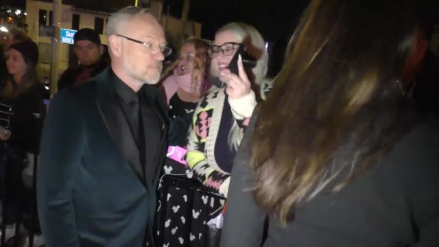 jared harris outside the entertainment weekly prescreen actors guild awards party at chateau marmont in los angeles at celebrity sightings in los... - entertainment weekly stock videos & royalty-free footage