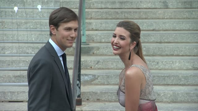 jared kushner and ivanka trump at vanity fair party - 2012 tribeca film festival on 4/17/2012 in new york, ny, united states. - tribeca festival stock videos & royalty-free footage