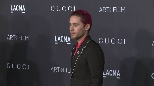 Jared Leto at 2015 LACMA ArtFilm Gala Honoring Alejandro G Inarritu And James Turrell Presented By Gucci at LACMA on November 07 2015 in Los Angeles...
