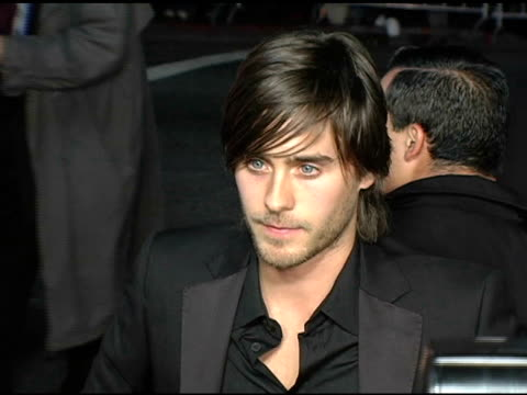 Jared Leto at the 'Alexander' Premiere Arrivals at Grauman's Chinese Theatre in Hollywood California on November 16 2004