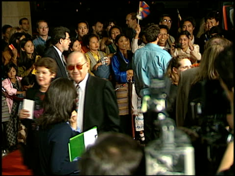 jared leto at the 'seven years in tibet' premiere at cineplex odeon in century city california on october 6 1997 - odeon cinemas stock videos & royalty-free footage